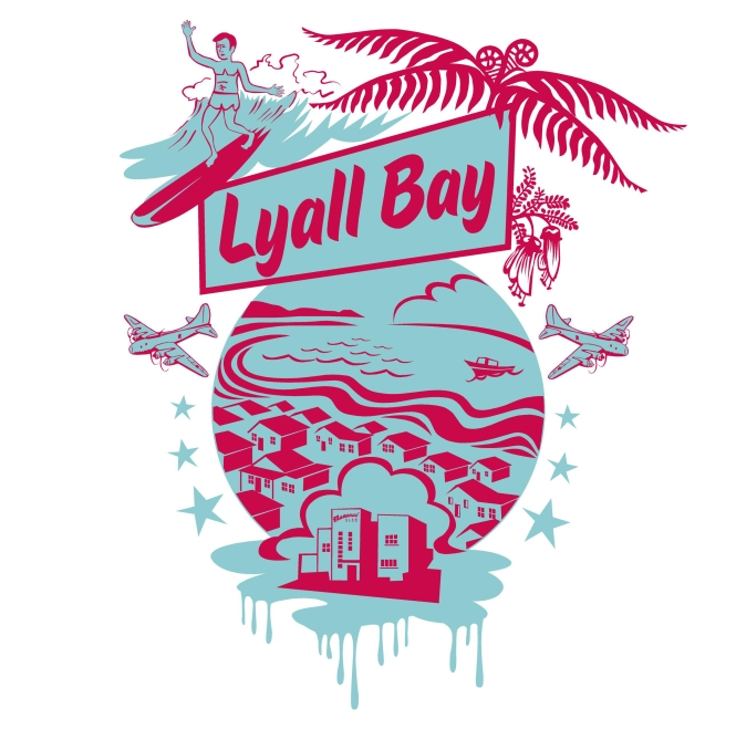 lyal bay T shirt design